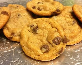 2 Dozen Peanut Butter Chocolate Chip Cookies