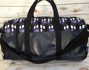 Doctor Who duffel bag