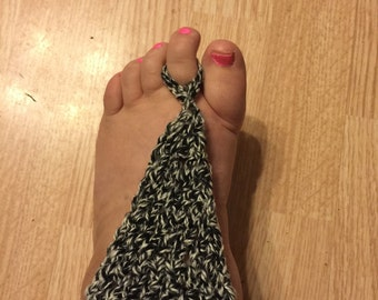 Adult barefoot sandals