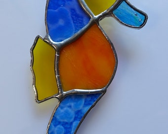 Seahorse- Stained Glass