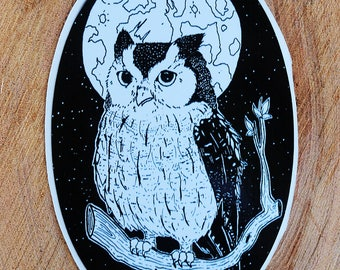 Owl Sticker