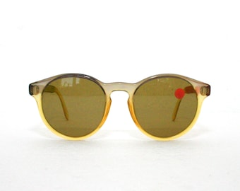 Esprit 7005 Sunglasses 80's Round New Old Stock Optyl Made in Austria Sun Glasses FREE SHIPPING High Quality Dior Dunhill