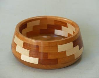 Segmented turning plate