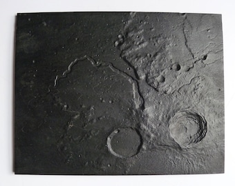 Aristarchus Plateau lunar surface model