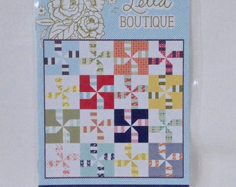 2 for PRICE of 1 - Do Si Do and Hot Cross Buns patterns ~ Lella Boutique ~ Paper Quilt Pattern