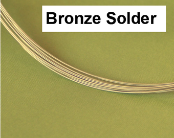 BRONZE Solder Wire Superior Bronze Color Match