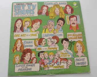Themes From TV Shows, Pop Singers & Orchestras, Peter Pan Records, 70s Theme Songs