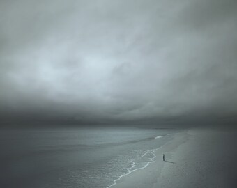 STARING at the SEA CONTEMPORARY Fine Art Photograph Signed Ltd Edition Chromogenic Print