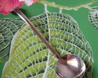 Serving Spoon Mid Century Modern Silver