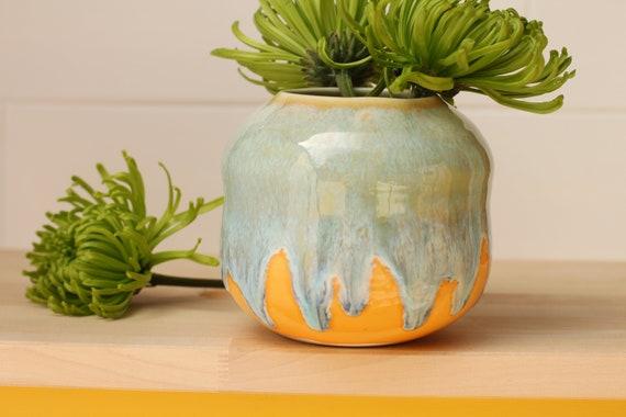 coastal vase // coastal decor // boho vase // small flower vase