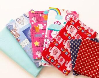 SHOP CLOSING SALE  Fabric Destash, Fabric Bundle, Fabric Remnants, Cotton Quilting Fabric