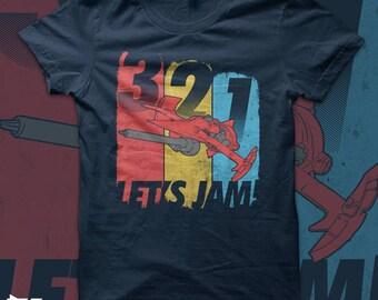 Cowboy Bebop - Let's Jam! T shirt - anime