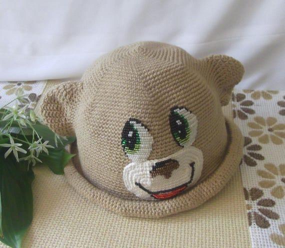 Affe Hut Kinder Panama-Hüte die Tierchen sommerhut Sonne