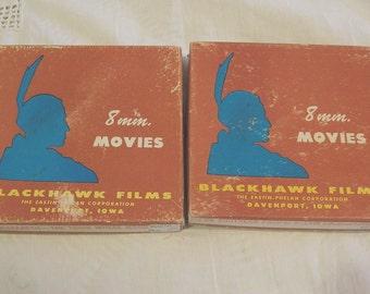 Blackhawk Films - Two Vintage 8mm Movies