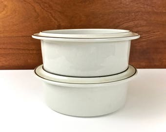 Arabia Finland Fennica vegetable bowl / vintage soup, cereal, serving dish / Ulla Precope / 2 available