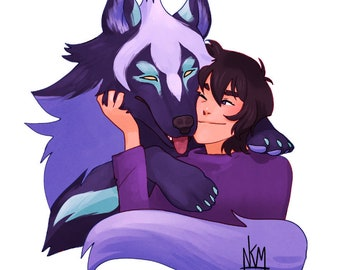 A Boy and His (Space) Dog Keith VLD