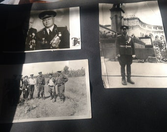 WW II Russian Commander photo album