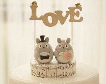 cake topper---Custom Order Deposit for the lovely Wedding Cake Topper