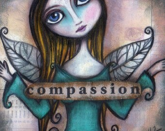 Compassion - 8x8 Signed Print