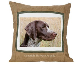 German Shorthaired Pointer Pillow, German Shorthaired Pointer Gift, German Shorthaired Pointer Throw Pillow, German Shorthaired Pointer