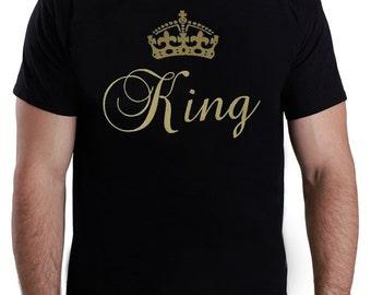 King Vinyl Printing T-Shirt