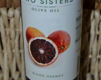 Blood Orange Flavored Olive Oil