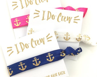 Nautical Bachelorette Party Favors | Bachelorette Cruise | Pink Navy White Anchors | Anchor Theme | Nautical Wedding | Wedding Cruise Favors