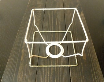 Wire lampshade frame etsy uk lampshade frame wireframe wire frame keyboard keysfo Image collections