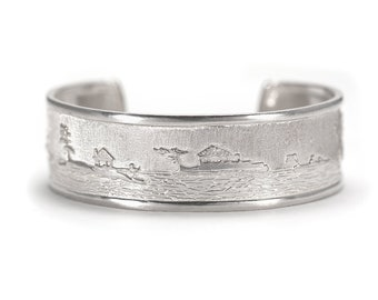 Georgian Bay Cuff Bracelet