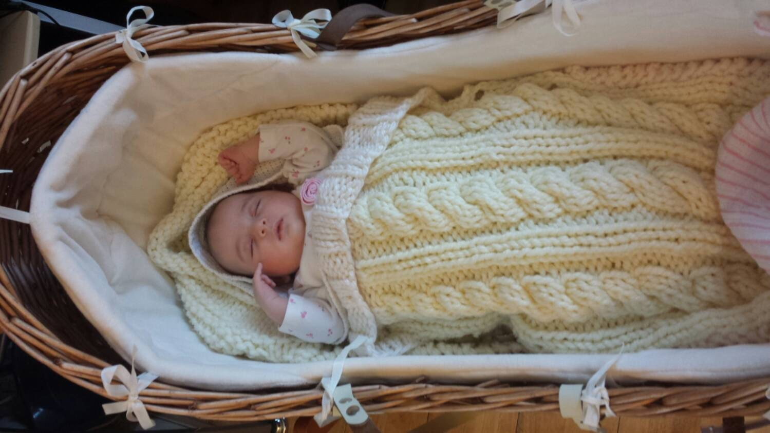 Baby Sleeping Bag knitting pattern, snuggly baby sleeping bag/sack ...