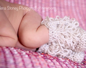 Fringe Boots, Infant Booties, Toddler Boots, Crochet