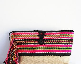 Bohemian style pouch
