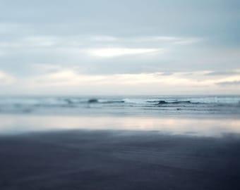 Ocean Photography, Landscape Photography, Beach Decor, Bathroom Art, Ocean Waves, Blue Art Print, Nautical Decor 20x20 - Limitless