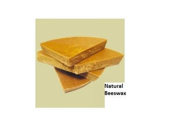 Really Raw and 100% Natural Pure Beeswax from Beekeeper 2 pounds Free Shipping! (32 oz)