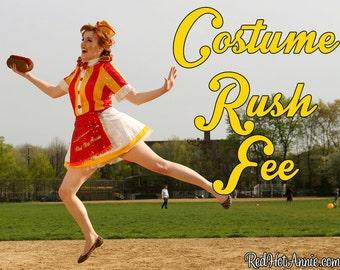 RUSH ORDER / Costumes