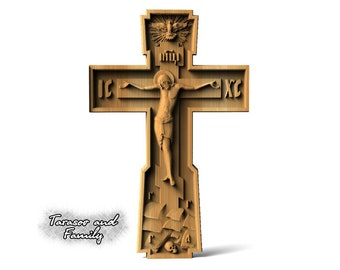 Artistic cross wall art hanging crucifix christian decor wood carving catholic wooden carved crosses wood crucifixes wall art decor gifts