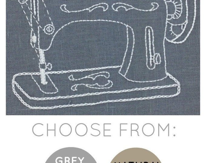 Sewing Machine Embroidery Kit {basic}