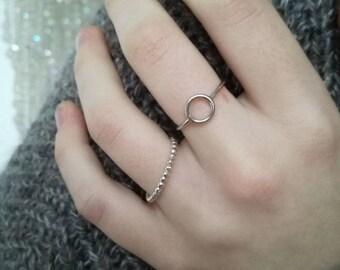 Circle Ring Silver