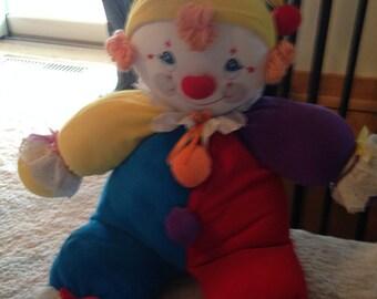 Large stufffed happy happy clown
