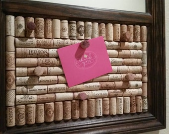 Wine Cork Push Pins / Wine Cork Decor / Home Decor / Thumbtacks