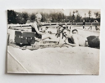 Original Vintage Photograph | Summer Family Fun
