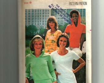 Butterick Misses' T-Shirt Pattern 4668