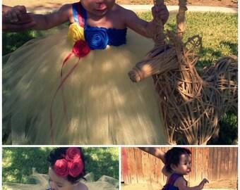 Snow White Tutu Dress - snow white -