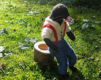 Fantasy - Sculpture - Mr Mole - Mole - Garden Folk