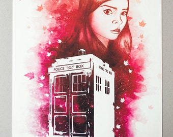 Run, Run You Clever Boy (Doctor Who) - Print, Limited Edition