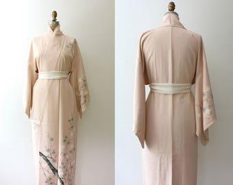 vintage kimono / kimono robe / Cherry Blossom Kimono