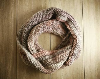 Shades of Purple Infinity Scarf