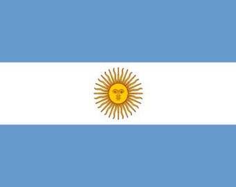 Argentina Flag Sticker (Argentinian Buenos Aires)