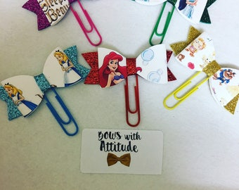 Planner clips journal clips i inspired princess theme