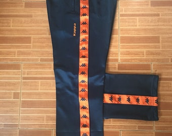 Rare Sweatpants Kappa With Orange Stripe